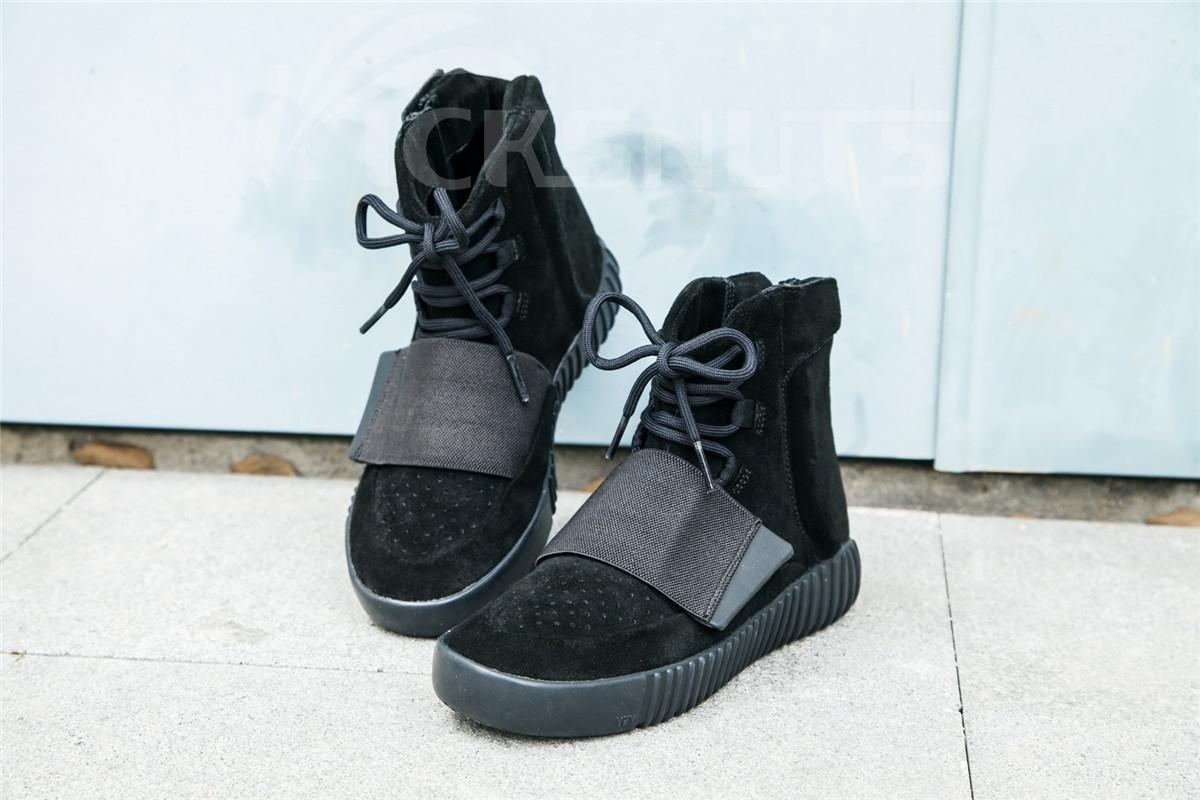separation shoes 7d29f b713f Super max perfect adidas yeezy boost 750 black Men and women shoes