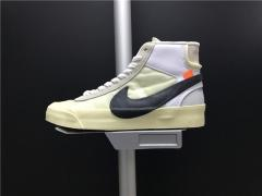 Super max perfect OFF-WHITE x NIKE BLAZER MID men and women shoes