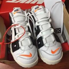 Perfect OFF-WHITE x Nike Uptempo Men Shoes