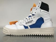 Nike Super Max Perfect OFF-WHITE X 3 Low Sneaker White Blue Men Shoes