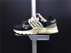 Nike Super Max Perfect OFF-WHITE X Nike Air Presto Men And Women Shoes(98%Authenic)