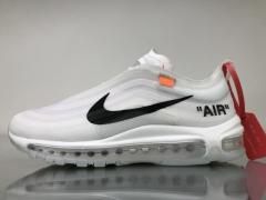 Authentic Off-White x Nike Air Max 97 men and women shoes