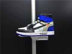 Super max  perfect OFF-WHITE x Air Jordan 1  men shoes