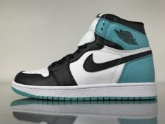 "Authentic Air Jordan 1 OG High ""Igloo"""