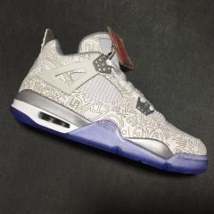 Authentic Air Jordan 4  Laser pattern