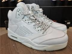 "Authentic Air Jordan 5  ""Pure Platinum"""