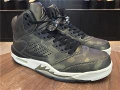 "Authentic Air Jordan 5 Premium Heiress""Metallic Field"""