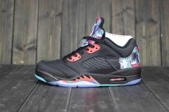 Authentic Air Jordan 5 Retro  black cool clor
