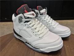 Authentic Air Jordan 5 Retro white