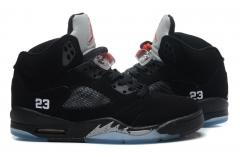 Authentic Air Jordan 5 Retro  black