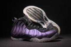 "Authentic Air Foamposite One ""eggplant ""Men and Women shoes"