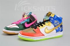 "Authentic Nike SB Dunk High ""What The Doernbecher""Men and Women shoes"