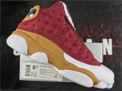 "Authentic  Air Jordan 13 ""white/Yellow/red"""