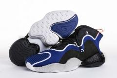 "Super max perfect Adidas Originals Crazy BYW Boost ""Black Blue""(98.5%Authenic)"
