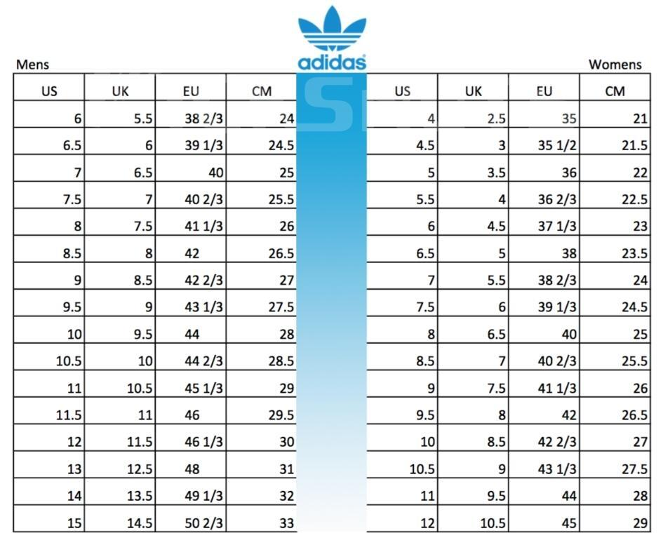 yeezy size chart for women's off 63