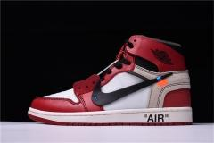 "Authentic OFF-WHITE x Air Jordan 1 ""chicago"""