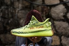 "(PK Quality)Adidas Yeezy Boost 350 V2""Semi Frozen""Real Boost Men and Women shoes"