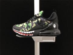 Super max perfect Bathing APE X Nike Air Max 270 (98.5%Authentic)