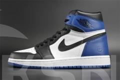 Authentic Air Jordan 1 x Fragment Design
