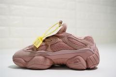 "Super max perfect Adidas Yeezy 500 ""pink"" women shoes (98%Authenic)"