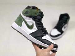 "Authentic Air Jordan 1 ""Clay Green"""