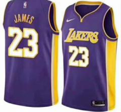 Los Angeles Lakers #23 LeBron James Nike  Stitched Jersey