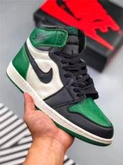 "Authentic Air Jordan 1 ""Pine Green"""