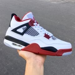 Authentic Air Jordan 4 Fire Red
