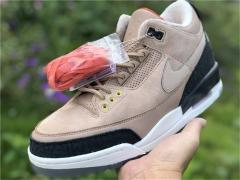 "Authentic Air Jordan 3 JTH ""Bio Beige"""