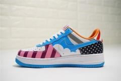 Super max  perfect Parra x Nike Custom Air Force 1 Low White MutiColor(98%Authenic)