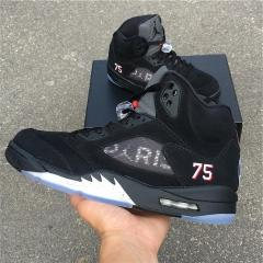 "Authentic Air Jordan 5 Retro ""Paris"""