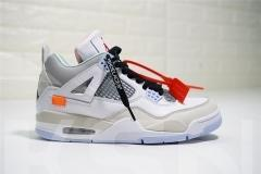 Super max perfect OFF WHITE x Air Jordan 4
