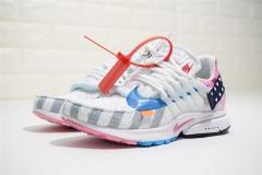 super max perfect Parra Off White x Nike Air Presto  men and women shoes