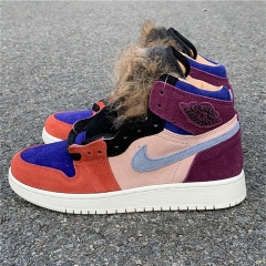 "Authentic Aleali May x AJ1 ""Viotech"""