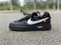 Authentic Off-White Nike Air Force 1 Low Black