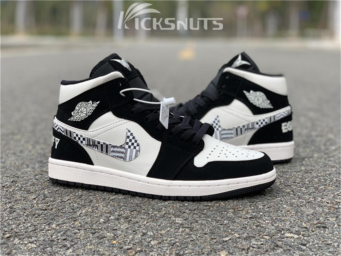 "separation shoes 6965f 97d6c Authentic Air Jordan 1 Mid BHM ""EQUALITY"""