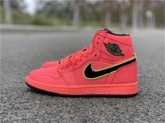 "Authentic Air Jordan 1 WMNS ""Hot Punch"""