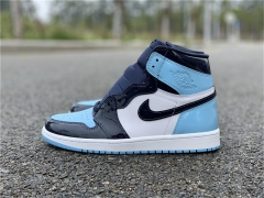 "Authentic Air Jordan 1 WMNS ""UNC"""