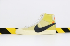 "Authentic OFF-White x Nike Blazer Mid""All Hallows Eve"""