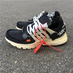 Authentic  OFF-WHITE x Nike Air Presto men shoes