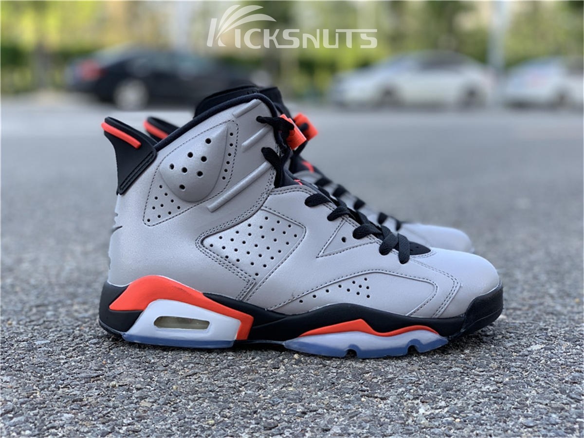 """outlet store 347b1 c99c5 Authentic Air Jordan 6 """"3M Reflective Infrared"""""""