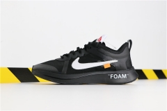 "Super max perfect Off-White x Nike Zoom Fly""Black""(98%Authenic)"