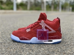 Authentic Air Jordan 4 The Oklahoma Sooners PE