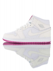 Authentic NIKE Air Jordan 1 Retro Mid SE 'discoloration'