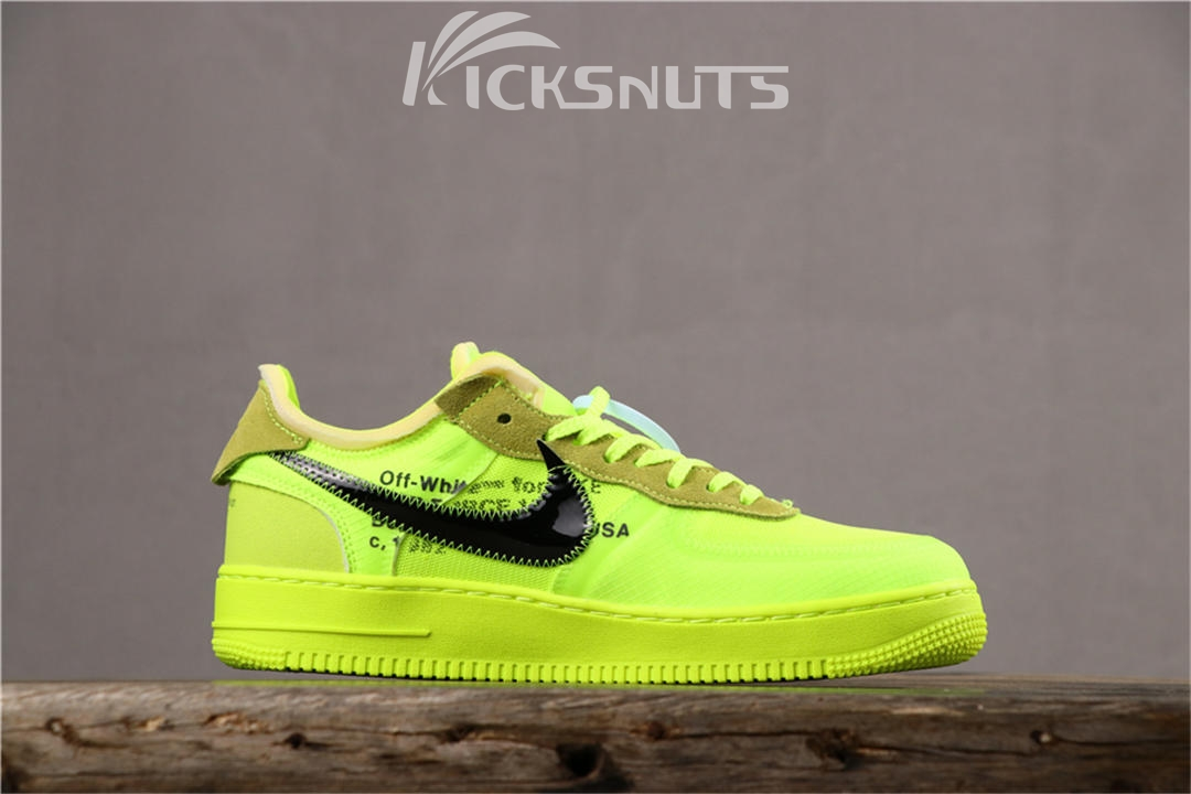 Super max perfect OFF WHITE x Nike Air Force 1