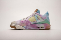 Super max perfect Levis X Air Jordan 4 Retro Multi-Color