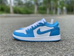 "Authentic Nike SB x Air Jordan 1 Low ""UNC"""