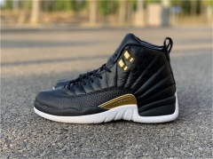 "Authentic WMNS Air Jordan 12 ""Midnight Black"""