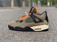 Authentic Air jordan 4 X Undefeated Travis Scott