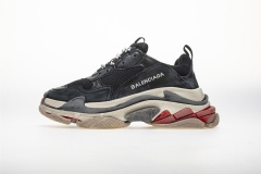 Authentic Belishijia triple S Black